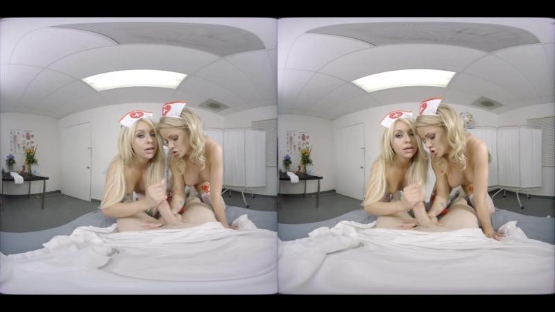 Jessa Rhodes, Madelyn Monroe nurses vr porn oculus rift pov virtual reality lesbian babe HD threesome fmf