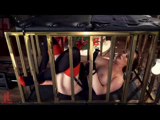 KinkyBites - Cherry Christmas! Cherry Torn Is Caged For The Holiday