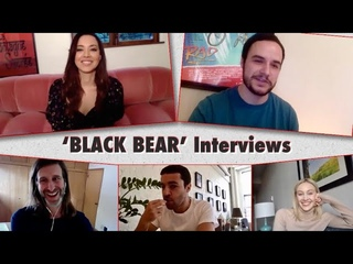 'BLACK BEAR' Interview - Aubrey Plaza, Christopher Abbot, Sarah Gadon, & Director