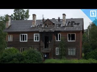 Бомжи и крысы осаждают дом в Петрозаводске