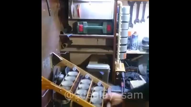 Простая идея для гаража
