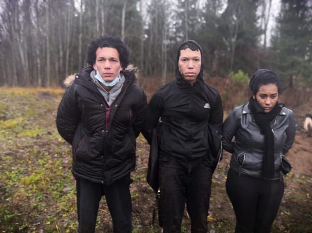 Трое латиноамериканцев во второй раз попытались прорваться через финскую границу под Выборгом.