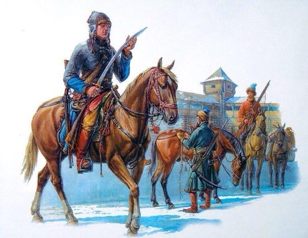 28 декабря 1645 (7 января 1646 г.) отряд курского воеводы стольника кн. С.Р. Пож...