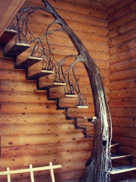 Интересная идея для лестницы ????????