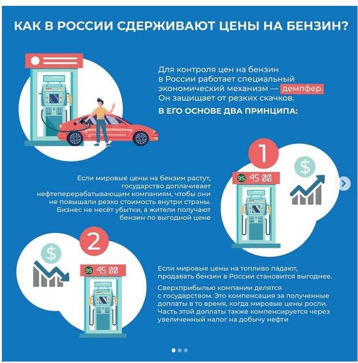 Названа справедливая цена на бензин АИ-92 в России