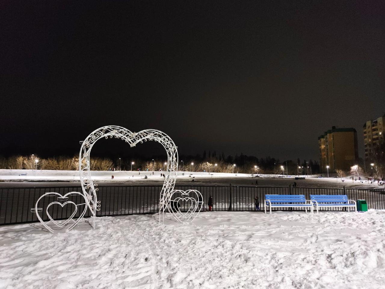 🔥Ребята, делюсь с вами по-дружески! На Ермошкином озере настоящий зимний курорт!...