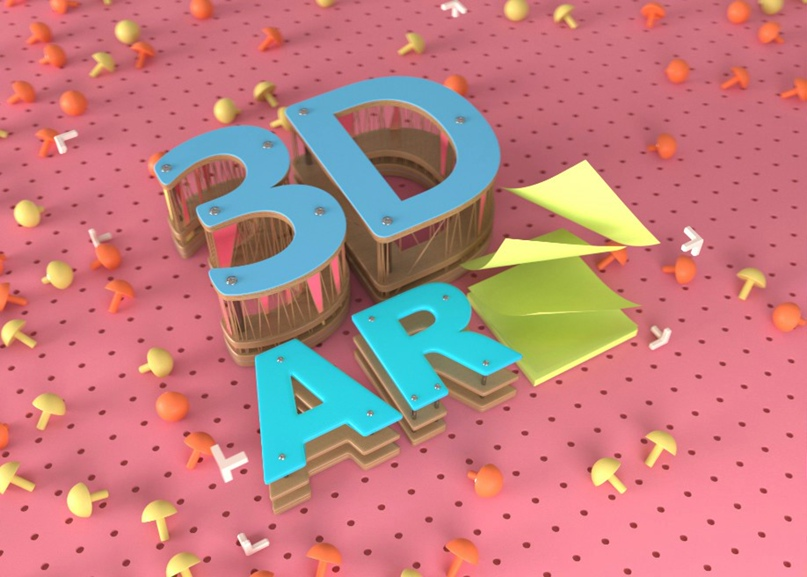 3D теперь для всех. Научись создавать крутой фотореалистичный 3D- и AR-контент прямо в браузере!
