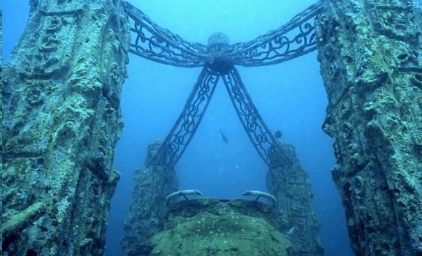 Великие постройки, спрятанные на дне морей