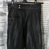 (1198)Мотоштаны кожаные, размер 44