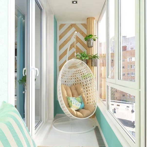 Балкон для отдыха.