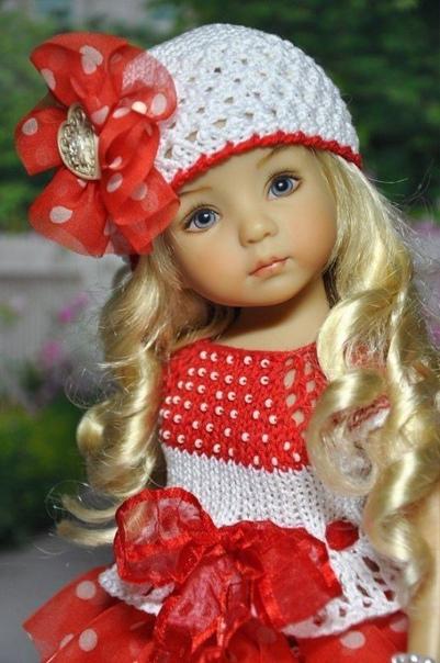 Куклы ручной работы  Дианы Эффнер.