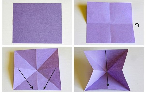 Бабочки оригами