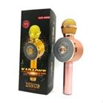 Караоке микрофон WSTER WS-668 беспроводной (Bluetooth, динамики, USB)