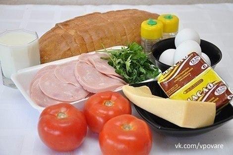 Яичный коблер - восхитительный завтрак для всей семьи...