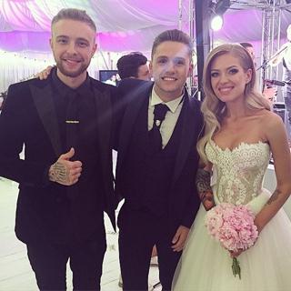Поздравляю Риту и Влада с бракосочетанем! Я очень рад за вас. Счастья вам, дружбы, бесконечной любви и гармонии! Вы крутая пара;) #Невеста💍