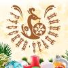 Русские Традиции: Красивые новогодние игрушки