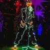 Неоновое световое шоу от Neonshow project