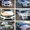 Свадебные украшения на машину прокат авто Казань