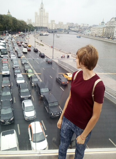Александра Глинская, Санкт-Петербург