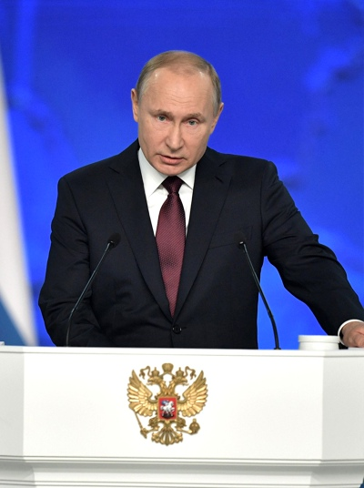 Владимир Путин, Москва
