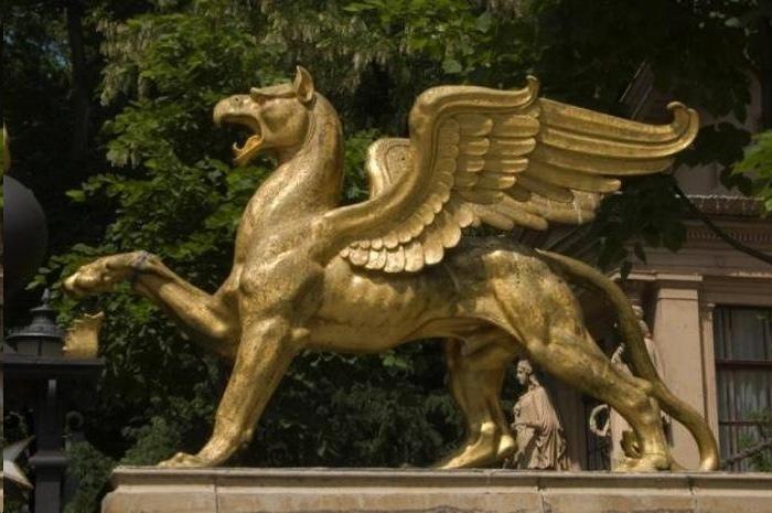 Лев с головой орла