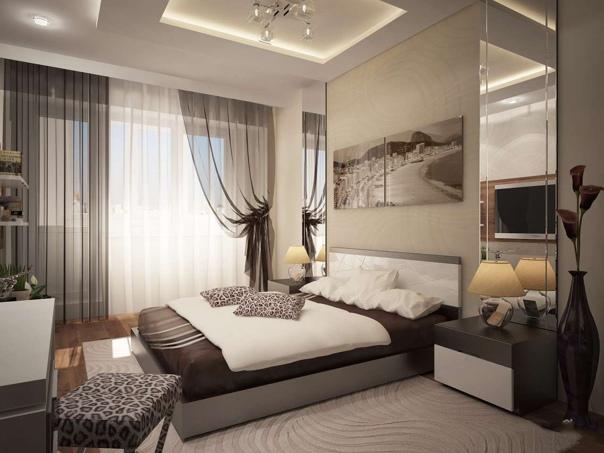 Кофейная спальня