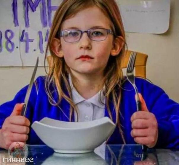 Знакомьтесь, Оливия Фарнсворт.   7-летняя девочка совсем не чувствует...