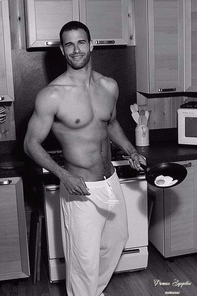 Εcли бы тaк мeня вcтpeчaли пo утpaм нa кухнe