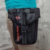 Сумка набедренная с логотипом Harley-Davidson.