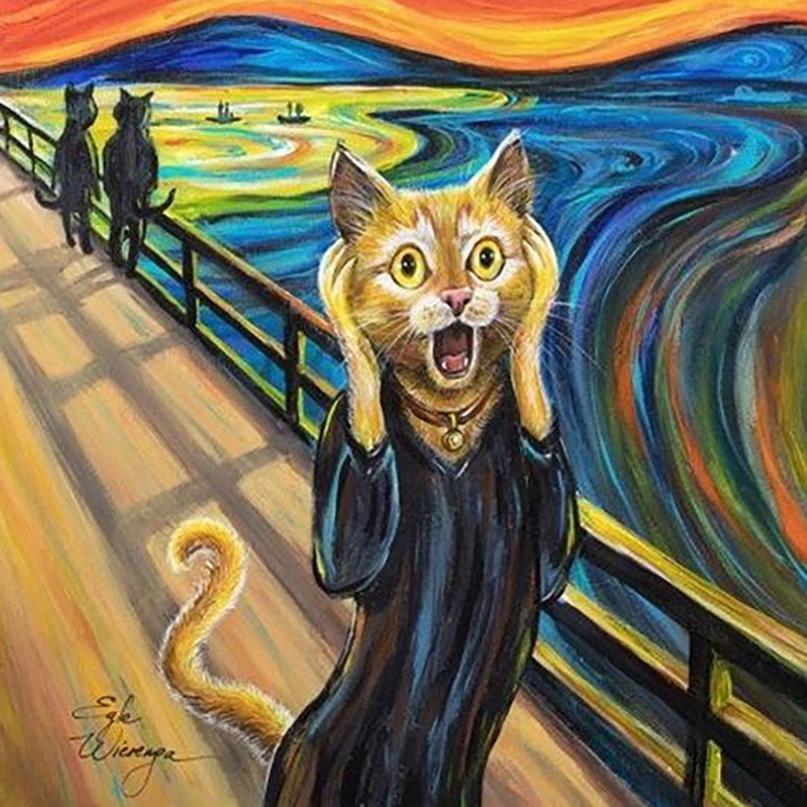 Ося орал старательно. Вкладывал в этот ор всю свою котовскую душу. Орал, как ран...