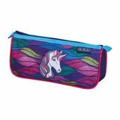 Пенал-косметичка Herlitz Sport Rainbow Unicorn