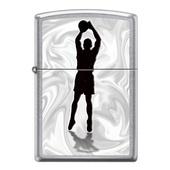 Зажигалка ZIPPO Баскетболист с покрытием Street Chrome™ (под заказ, цена по запросу)