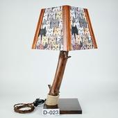 Авторский деревянный светильник DIMATI, Арт: D-023