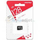 Карта памяти SmartBuy microSDXC Class 10 128GB