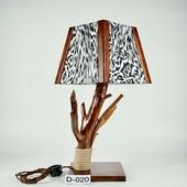 Авторский деревянный светильник DIMATI, Арт: D-020