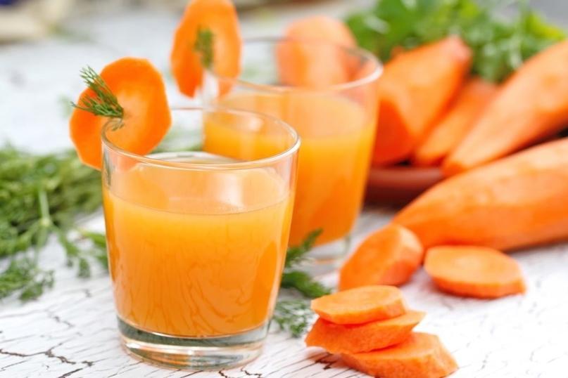 Морковно-облепиховый сок