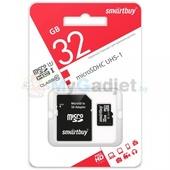Карта памяти SmartBuy microSDHC Class 10 32GB
