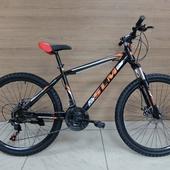 """Велосипед SLM Соломон 26"""" (2021) Черный/Оранж"""