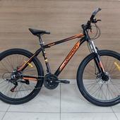 """Велосипед COM GT 910 Алюминий, Disc (2021) 27,5"""" Чёрный/Оранжевый"""