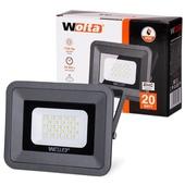Прожектор светодиодный WOLTA WFL-20W/06, 5500K, 20 W SMD, IP 65,