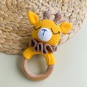 Игрушка -грызунок Жираф