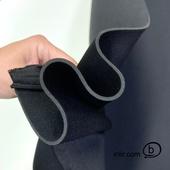 Неопрен STANDARD толщ.3 мм., чёрный трикотаж с двух сторон