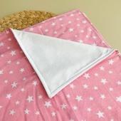 Непромокаемая пеленка Звёзды , цвет розовый