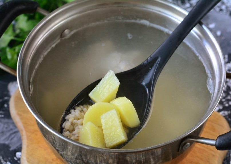Суп с индейкой и овощами 🍲