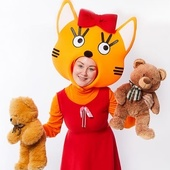 "Аниматор Карамелька 3 м/ф ""Три кота"""