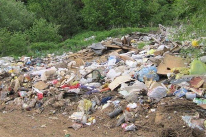 В Сурском районе нашли незаконную свалку