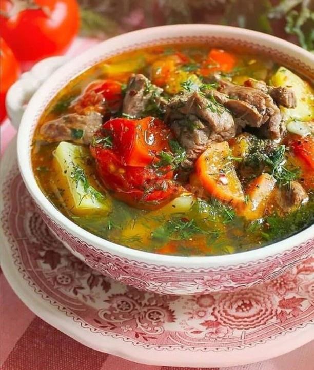 Чанахи. Суп или жаркое? Просто грузинское.