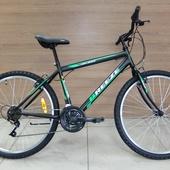 """Велосипед Иж-байк Breeze 26"""" (2020) Черный/Зеленый/Белый"""