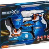 Оружие ЛАЗЕР-Жук Bondibon на батар.,набор из 2-х космических ик-бластеров