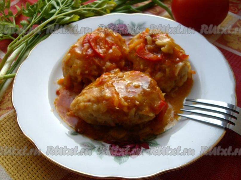 Рецепт ленивых голубцов с рисом от lenochek